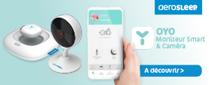 AeroSleep Set Caméra et Smart Monitor OYO