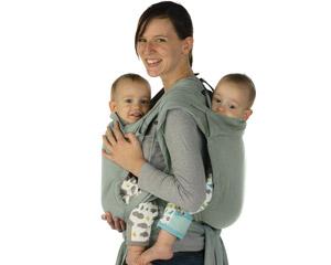 41a679163863 ... de portage toutes prêtes, vous pouvez opter pour 2 BB-Tai de Babylonia.  Vous pourrez alors porter un enfant sur le dos et un enfant sur le ventre.