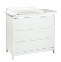 Troll Commode Lukas décor blanc
